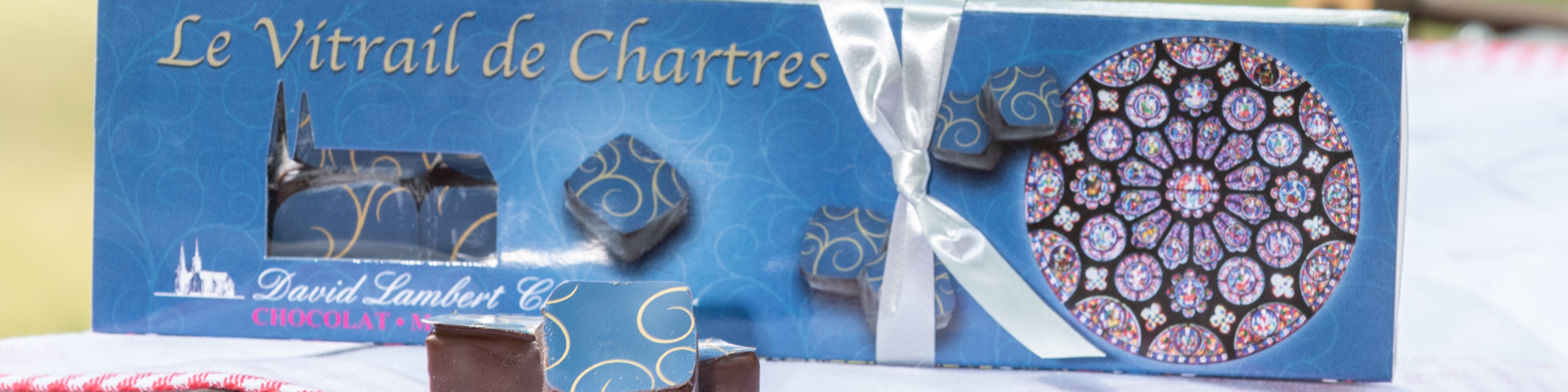 Vitrail de Chartres Chocolate