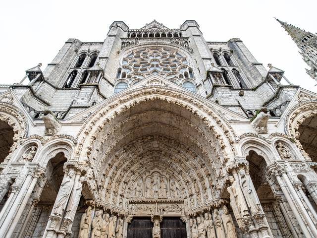 Portail nord de la cathédrale de Chartres