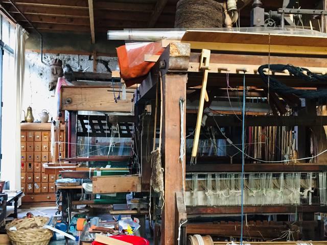 Atelier de tisserand de Houx