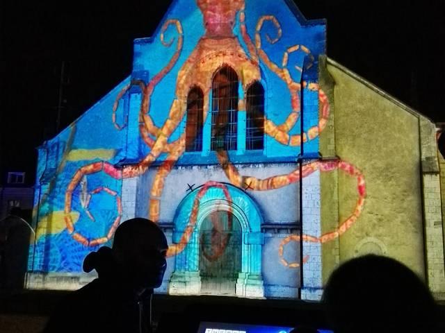 Scénographie interactive sur la Chapelle Sainte Foy