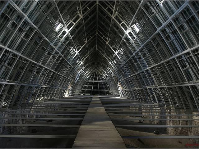 Combles de la cathédrale de Chartres