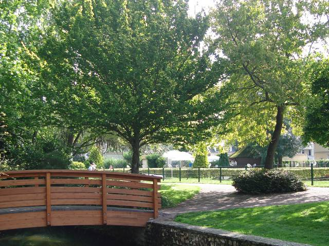 Parc des bords de l'Eure - © Service des Espaces verts de la Ville de Chartres