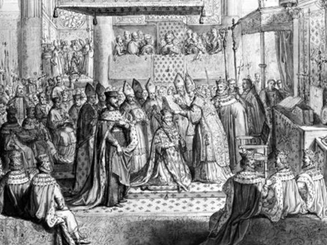 Sacre Henri IV à Chartres
