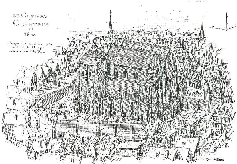 Château comtal de Chartres