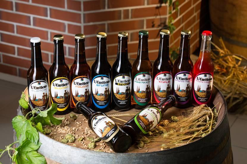 Gamme de bières L'Eurélienne