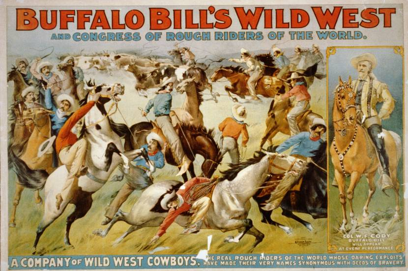 Affiche du Buffalo Bill Wild West Show