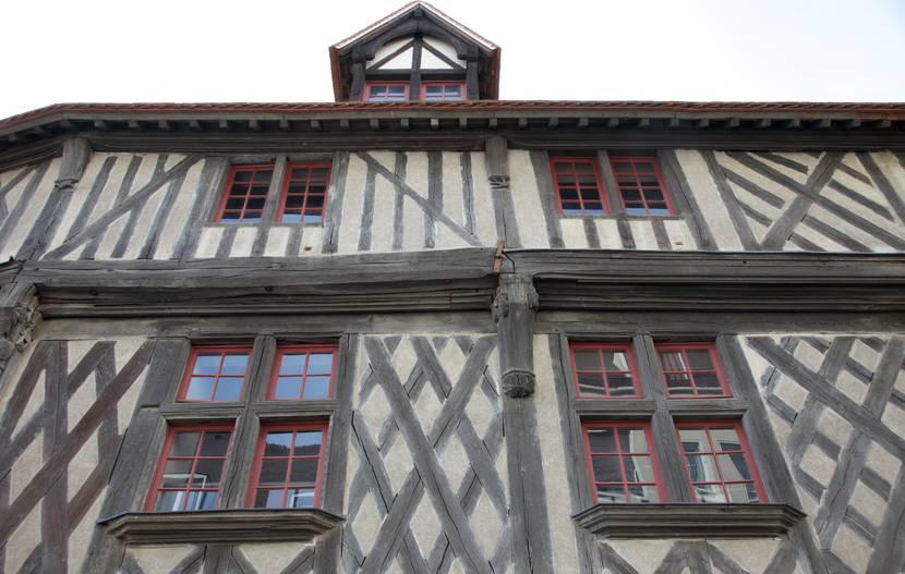 Maison du Saumon à Chartres