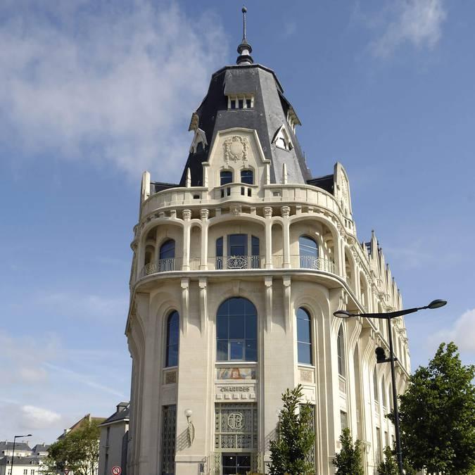 Médiathèque l'Apostrophe de Chartres