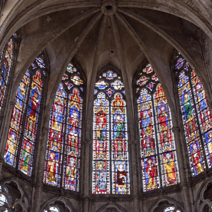 Vitraux de l'église Saint-Pierre