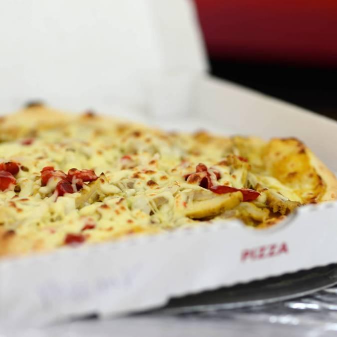 Pizza sur le marché de Dammarie