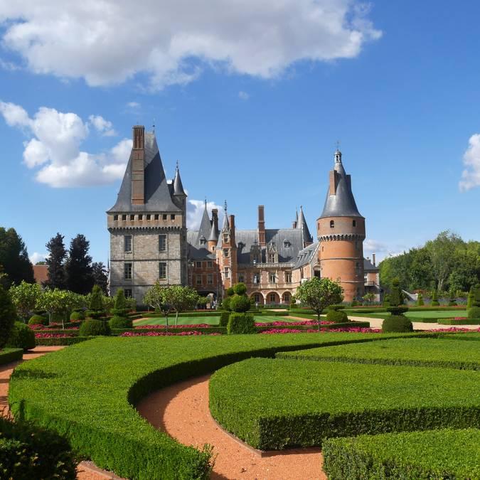 Château de Maintenon vue de loin - © Aude Montaudon