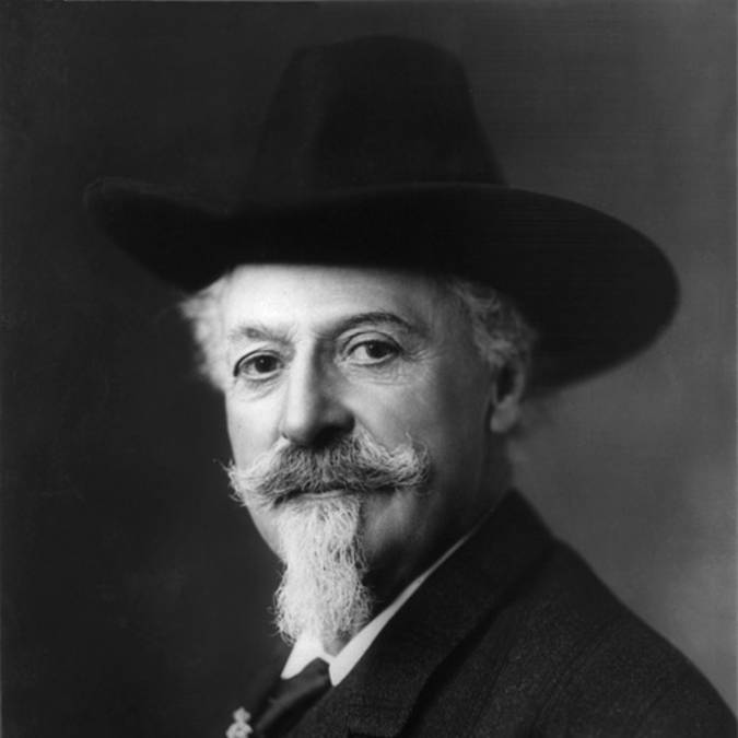 Portrait de Buffalo Bill