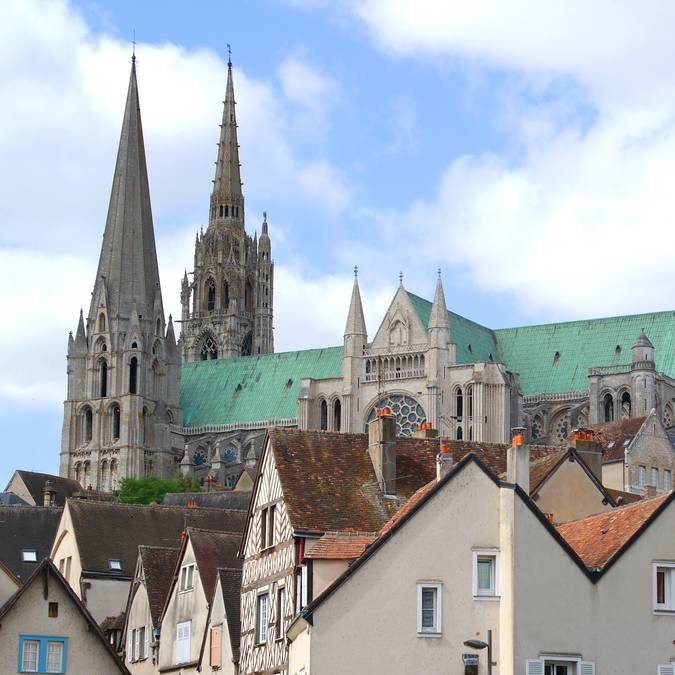 Balade dans la ville de Chartres © Annie Jourdren