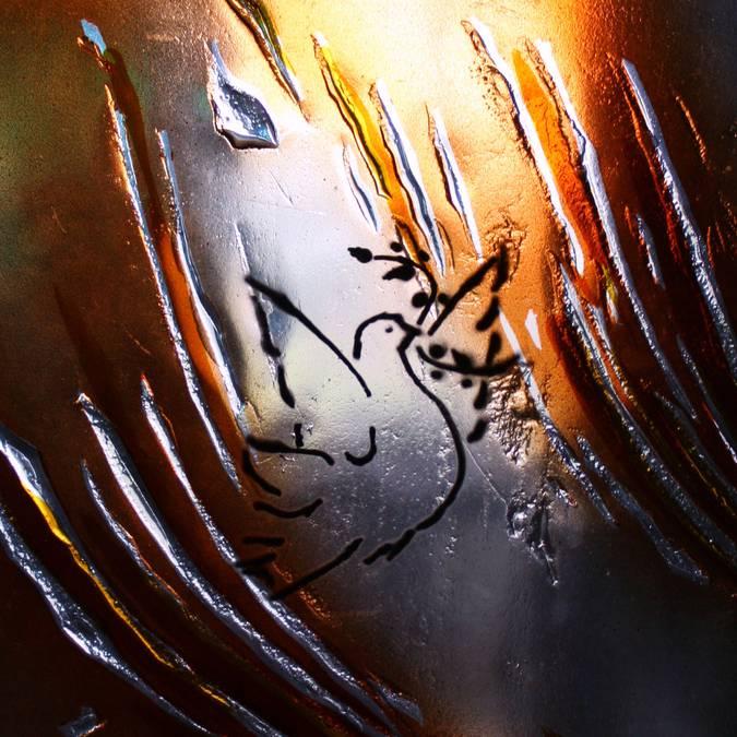 Colombe de la paix - © Lumière de Verre