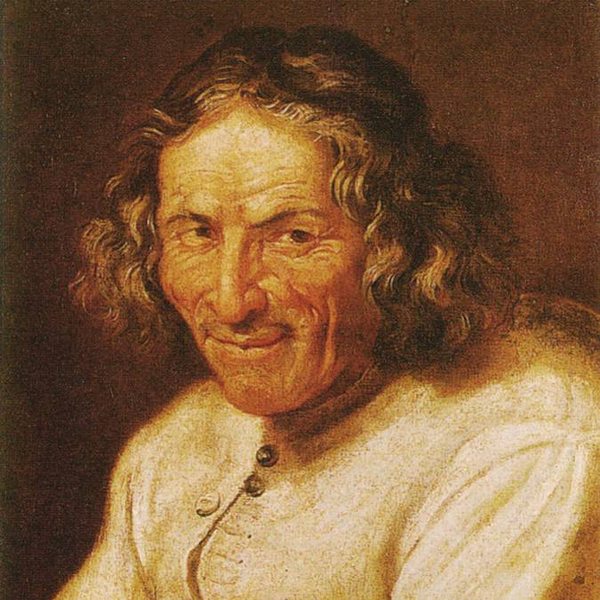 Portrait du Poète Scarron