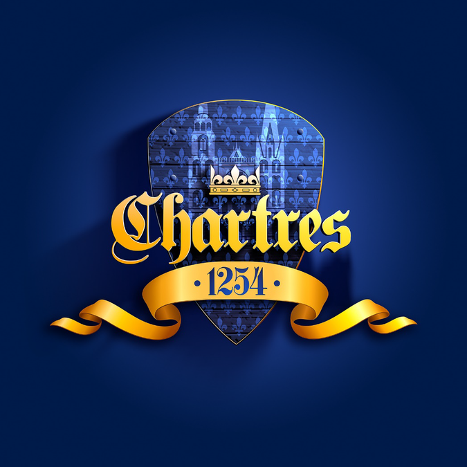"Logo ""Chartres 1254"""